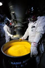 Image result for yellowcake uranium