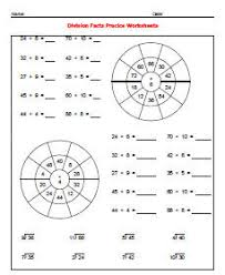 Printable Free Simple Division Worksheetsdivision facts practice worksheets