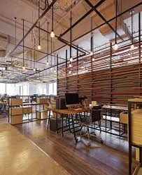 office define. this space uses different floor coverings to define areas office