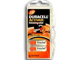 Батарейки Duracell ActiveAir Nugget Box ZA13 DA13/6BL | www ...