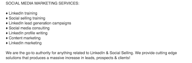 how to write a great linkedin profile video tutorial ce services