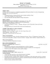 sample resume about computer skills computer  seangarrette cosample resume about computer skills computer computerscienceresumesample resume skills for computer science