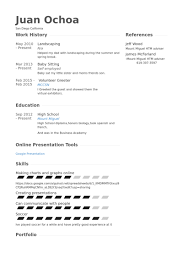 landscaping resume samples landscape resume samples