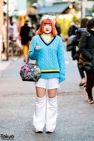 <b>Harajuku</b> Street Style w/ Lacoste <b>Sweater</b>, Nike Cut Out Pants & LV x ...