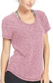 QUEENIEKE <b>Women Yoga</b> Sweat Times Short Sleeve T-<b>Shirt</b> Loose ...