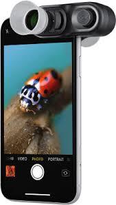 Оригинальные объективы <b>Olloclip для</b> iPhone и других телефонов