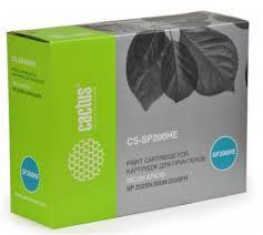 Тонер-<b>картридж Cactus CS</b>-<b>SP200HE</b> купить в Москве, цена на ...