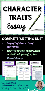 character traits essay literary essay writing for any text character traits essay here s a literary essay made easy and ready to use any