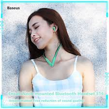 <b>Baseus Encok</b> S16 <b>Neck</b>-<b>mounted</b> Bluetooth Headset Bluetooth ...
