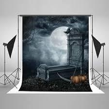 <b>5x7ft</b> Halloween Photography <b>Backdrops</b> Haunted Tree Boneya ...