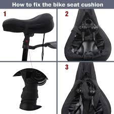Mountain and Road <b>Bike</b> Stationary <b>Seat Cushion Covers</b> Premium ...