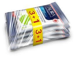 <b>Влажные салфетки Aura</b> антибактериальные с ромашкой ...