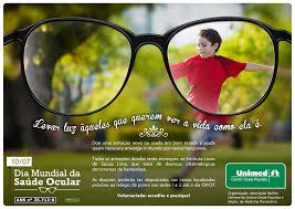 Resultado de imagem para dia da saúde ocular