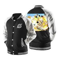 <b>Naruto</b> Six Path Sage Mode Form <b>Konoha</b> Symbol Baseball Jacket ...