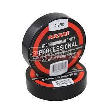 Купить <b>Изолента</b> проф. ПВХ 19мм (рул.20м) черн. <b>REXANT</b> 09 ...