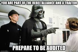 You are part of the rebel alliance and a traitor Prepare to be ... via Relatably.com