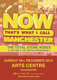 The Total <b>Stone Roses</b> + The Smiths Presumably + Oaysis * at ...
