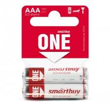 <b>Батарейка Smartbuy</b> ONE LR03-2SB <b>ААА</b> алкалиновая 60-600 ...