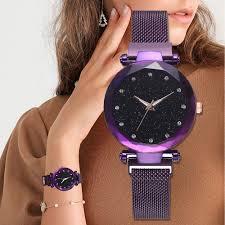 Women Fashion <b>Watch Waterproof Starry Sky</b> Quartz Wrist <b>Watch</b> ...