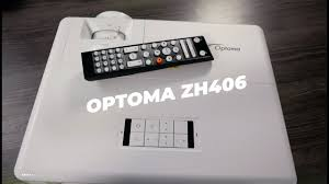REVIEW: <b>Optoma ZH406</b> 1080p Laser Projector - YouTube