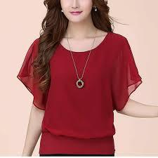 <b>Women</b> Tops Blouses <b>Female</b> Shirt <b>Korean Fashion</b> Clothing Stylish ...