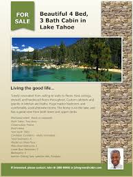 real estate flyers that generate leads real estate flyer lake cabin