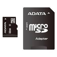 <b>Карта памяти ADATA</b> microSDHC 32GB Class 10 + ADP — купить ...