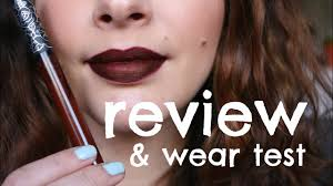 <b>Kat Von D</b> Everlasting Liquid Lipstick in Vampira - REVIEW & WEAR ...