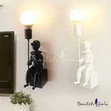free shipping fashion creative table lamp resin rabbit shaped living room decoration modern