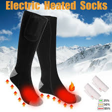 Electric <b>Heating</b> Socks <b>Rechargeable Battery Heating</b> Warmer Sock ...