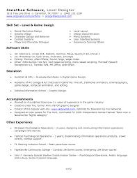 gaming design resume s designer lewesmr sample resume of gaming design resume