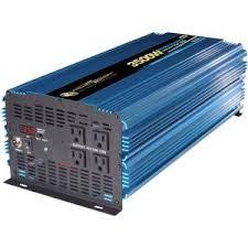 Power Bright <b>12-Volt DC to AC</b> 3500-Watt Power Inverter-PW3500 ...