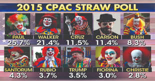 Image result for gop clown car
