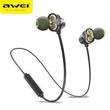 <b>AWEI X650BL</b> CSR4.1 Sports Wireless Bluetooth Headset | Shopee ...