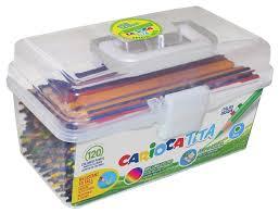 <b>Carioca набор цветных карандашей</b> Tita 120 штук (42800/120 ...