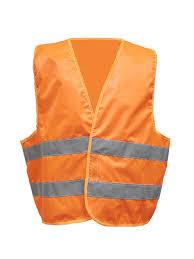 <b>Жилет сигнальный</b>, <b>размер</b> 52-54 (<b>оранжевый</b>, класс защиты 2 ...