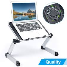 Armyte Ergonomic <b>Adjustable Aluminum Laptop Stand</b> with CPU ...