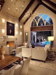 vaulted ceiling ideas designs awesome cathedral ceiling lighting 15