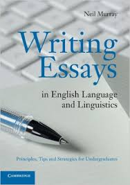 amazoncom writing essays in english language and linguistics  writing essays in english language and linguistics principles tips and strategies for undergraduates th edition