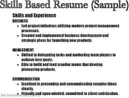 key skills in resumes  skill based resume  amp  skills summary examples