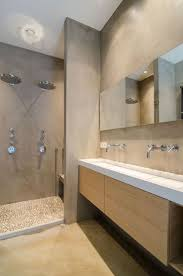 pics of bathroom designs: cocoon modern bathroom inspiration with microcement inox stainless steel bathroom taps modern washbasins bathroom design products renovations