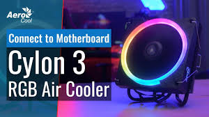 <b>AeroCool</b> Cylon 3 Air <b>Cooler</b> - How to Connect to Your Motherboard ...