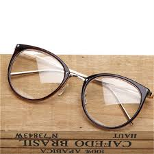 <b>COOLSIR</b> Retro Metal Frame <b>Eyeglasses Oversized</b> Clear Lens ...