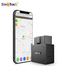 <b>OBD</b> II <b>GPS Tracker 16PIN OBD</b> Plug Play Car GSM <b>OBD2</b> Tracking ...