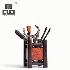 <b>TANGPIN coffee</b> and <b>tea</b> tools ebony wood <b>tea</b> ceremony set kung fu ...