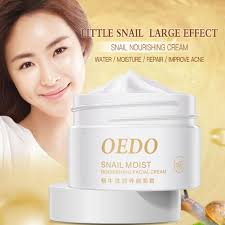 40g Natural Snail <b>Cream Facial Moisturizer Face Cream</b> Whitening ...