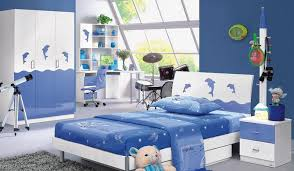 children blue white bedroom interior blue and white furniture