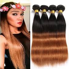4 bundles 8 26 brazilian straight virgin <b>hair</b> unprocessed wefts ...