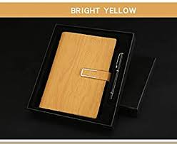 Magnetic Buckle Loose-Leaf Notebook <b>Business Gift Box Set</b> ...