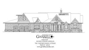 Search  amp  Browse House Plans  Architectural Floor Plans   House    chestatee river cottage house plan   front elevation